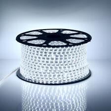 1-50M LED Strip 220V 230V 240V IP67 Waterproof 5050 SMD Lights Rope +EU Plug