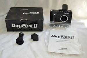 EX In Box DigiFlex II HORSEMAN Nikon F Lens Mount+Hasselbald V Back Mount Camera
