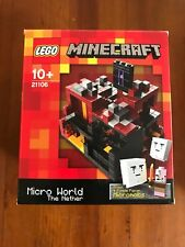 LEGO Minecraft 21106 The Nether Retired set NEW Sealed postage included