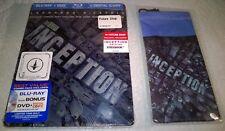Inception (2010, Canada, Region Free) Futureshop Exclusive Steelbook w/Pouch NEW