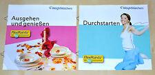 Weight Watchers Sattmacher Plan SET 2 'Start-Broschüren perfekt zum STARTEN 2014