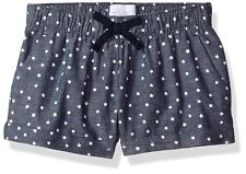 Children's Place Big Girls Star Print Chambray Shorts Size: 6x/7 New