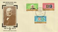 St VINCENT 1979 ROWLAND HILL CENTENARY UNADDRESSED FIRST DAY COVER a