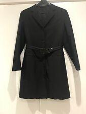 PRADA Men`s Black Overcoat Size UK 34 RRP £1670 Bargain Now Only £249.90