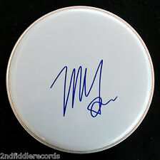 """NEIL YOUNG-Autographed 10"""" DRUMHEAD-Letter Of Authenticity by JOHNY BARBATA-CSNY"""