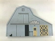 The Cat's Meow Eli's Harness Shop 1991 Ohio Amish Series Signed Faline 94