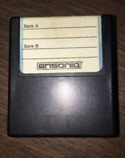 Vintage ensoniq E2PROM, EEPROM, RAM cartridge Esq-1 Sq-80