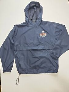 Cal State Fullerton 1/4 Zip Anorak Windbreaker Adult Size Large Navy