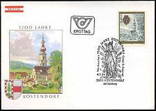 Austria 1984, 1200th Anniv Lostendorf FDC First Day Cover #C18260