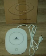 Heated Electric Mug/Cup Warmer 55 ° Constant Temperature Home Office White NIB