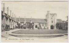 Hampshire postcard - Winchester - St Cross Hospital - LL No. 56 - P/U 1918