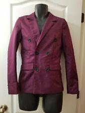 Mymstorm Classic Men's Sz Medium Purple Button Fashion Jacket H2
