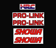 Honda Showa Fourche Stickers & Pro-Link Bras Oscillant -aircooled Mono Trial