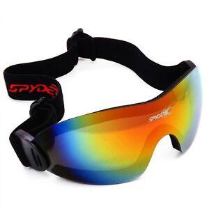 Men Women Ski Glasses Dustproof Anti Fog Skiing Eyewear Windproof UV400 Goggles