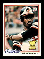 1978 Topps #36 Eddie Murray EXMT/EXMT+ RC Rookie Orioles 514359