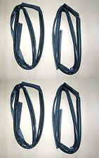 Glass Run Channel Seal Rubber Set 1995-2002 Toyota Corolla CE EE AE111 112 110