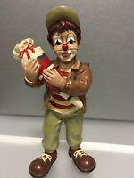 """Gilde Clown """" mit Schultüte """" 14,7 cm. Top Zustand !!"""