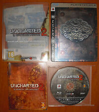 Uncharted 2: the kingdom of thieves limited Ed. Collector, ps3 pal-ESPAÑA
