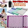 3PCS/Set Massage Acupressure Yoga Mat + Pillow + Bag Sit Lying Pain Stress Relax