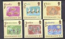 GUERNSEY, 2004, 800TH ANNIV OF ALLEGIANCE, SG 1038-43, MNH SET OF 6, CAT £ 8