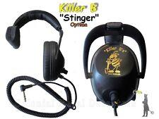 Killer B Stinger Headphones - Metal Detecting - Shipped Fast!!
