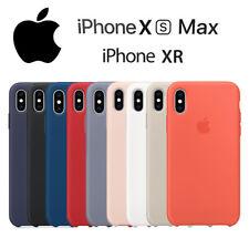 Funda trasera SILICONA para IPHONE Xs max y XR máxima Calidad / silicone case