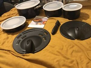 T-Fal IngEnio Fat Free Cookware Set