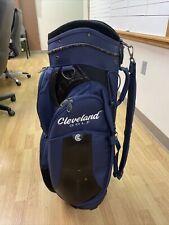 Cleveland 7way Divider Cart Bag Navy Blue