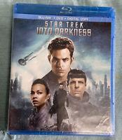 Star Trek Into Darkness (Bluray+DVD) MOVIE Chris Pine CUMBERBATCH Factory SEALED