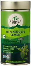 Organic India The Original Tulsi Green Tea Antioxidant Rich 100g TIN