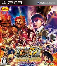 PS3 Super Street Fighter IV Arcade Edition Japan Free Shipping