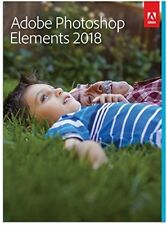 Adobe Photoshop Elements 2018 Mac/Win 2 Computers Sealed Retail Box