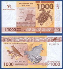 FRENCH PACIFIC TERRITORIES  1000 Francs 2014 UNC  P.6