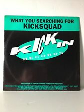 Kicksquad What You Searching For Kickin Records DJ Hype 1991 OLDSKOOL HARDCORE