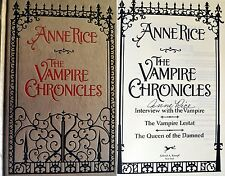 Anne Rice~The Vampire Chronicles~SIGNED~1st Edition HC + Photos!