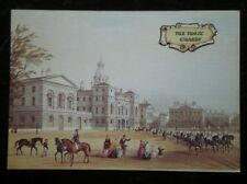 POSTCARD LONDON LINEN - HORSE GUARDS - LITHOGRAPH BY  G SHEPHERD