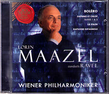 Lorin MAAZEL: RAVEL Bolero La Valse Rapsodie espagnole Daphnis et Chole Suite CD