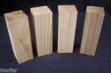 "4 Piece Kiln Dry Butternut 2 x 2 x 6"" Carving Lathe Turning Craft Lumber"