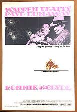 "BONNIE and CLYDE - 27""x41"" Original 1967 1-Sheet Movie Poster - Arthur Penn, one"