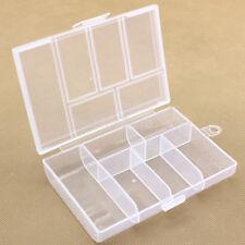 Practical Plastic Earring Jewelry Storage Bead Organizer Screw Holder Box Case