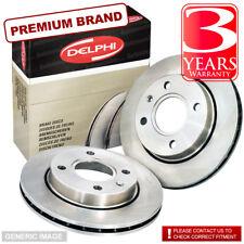 Front Vented Brake Discs Smart Forfour 1.5 CDi Hatchback 2004-06 68HP 256mm