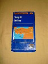 Turquie Carte Routière Recta Foldex N°331