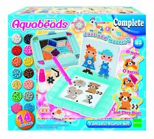 Aquabeads 31588 Fantastic Starter Set Jewel and Solid Beads in 14 colours