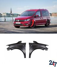 NEW VOLKSWAGEN CADDY 2015-2019 FRONT WING FENDER COVER PAIR SET N/S + O/S
