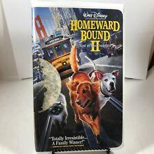 Walt Disney Clamshell VHS - Homeward Bound 2 Lost in San Francisco
