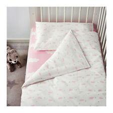 Ikea Himmelsk 4 Piece Bedlinen Set For Crib Pink Nursery Bedding 003.195.93
