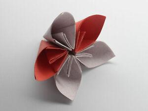 A Kusudama Flower Origami Handmade paper