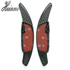 Carbon Steering Wheel Shift Paddle Shifter Extension For Subaru BRZ WRX Forester