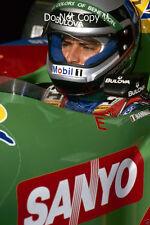 Alessandro Nannini Benetton F1 Portrait 1990 Photograph