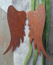 Edelrost Engelsflügel Advent Metall Garten Rost Fensterschmuck Flügel Engel